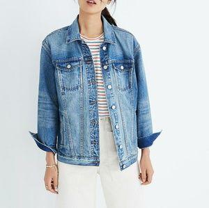 NWT Madewell Oversized Jean Jacket